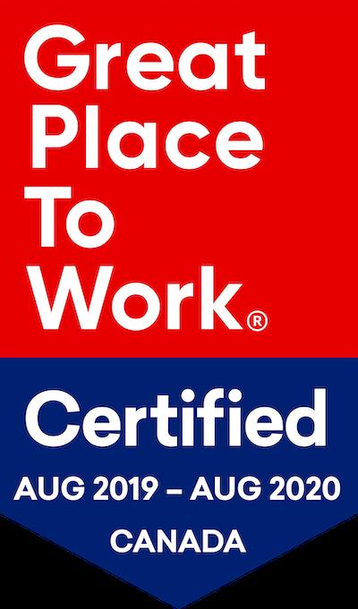 GPTW Certified - 2019-08 (Aug 2019 - Aug 2020) - EN